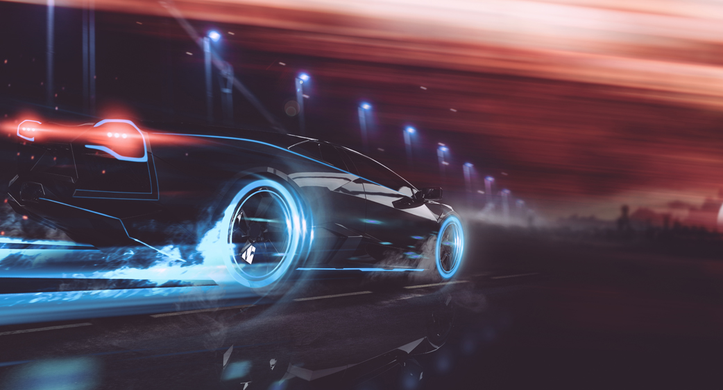 Futuristic_Car_Night